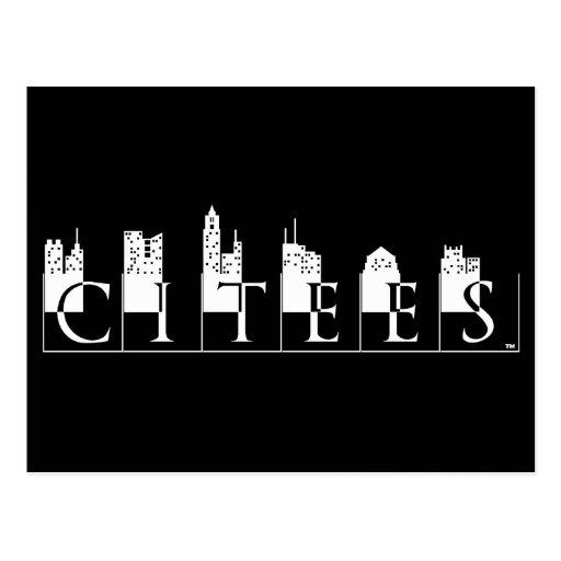 Citees Logo Postcards