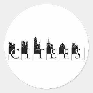 Citees Logo Sticker