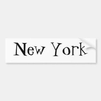 Citees - New York Car Bumper Sticker