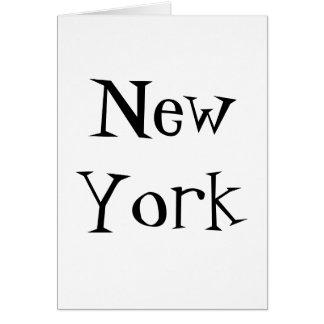 Citees - New York Card