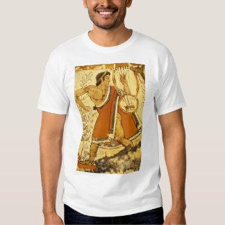 Cithera Player', Etruscan_Art de la antigüedad Poleras