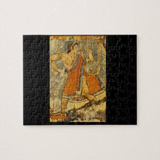 Cithera Player', Etruscan_Art de la antigüedad Puzzle
