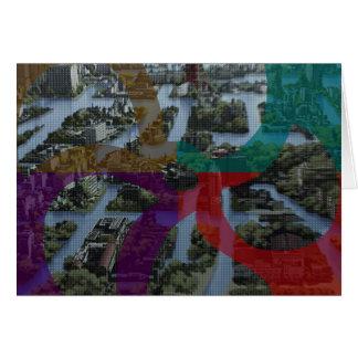 CITI SCAPE Improvisation Landscape Architecture Card