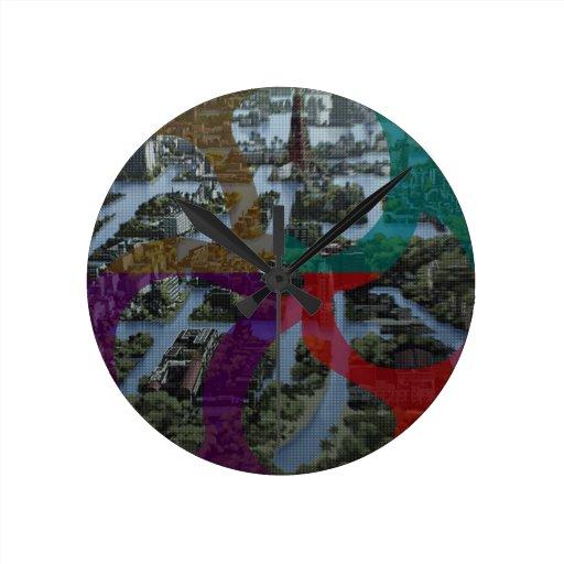 CITI SCAPE Improvisation Landscape Architecture Clock
