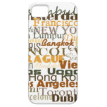 Cities Around The World iPhone 5 Cover
