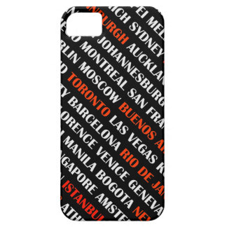 Cities around the world iPhone SE/5/5s case
