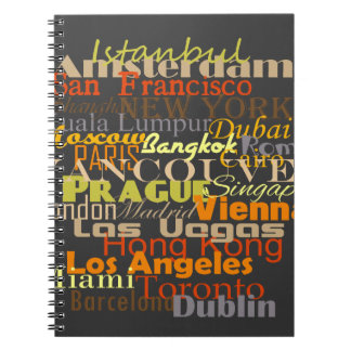 Cities Around the World Notebook