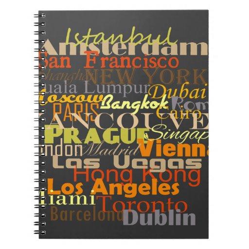 Cities Around the World Notebook