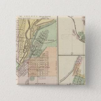 Cities of Centralia & Grand Rapids Button