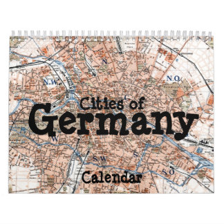 Cities of Germany Calendar