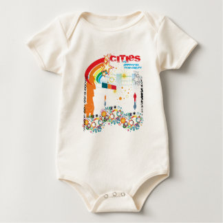 Cities of Imperious Tranquility Baby Bodysuits