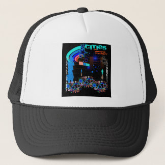 Cities of Imperious Tranquility t-shirt design1 Trucker Hat