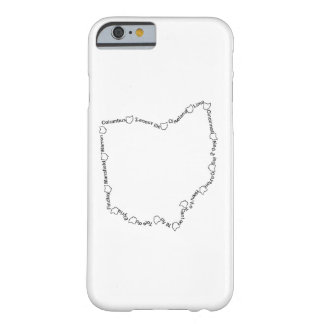 Cities of Ohio 001 Barely There iPhone 6 Case