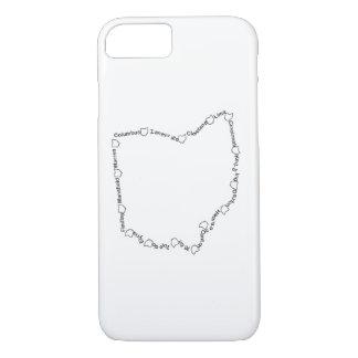 Cities of Ohio 001 iPhone 7 Case