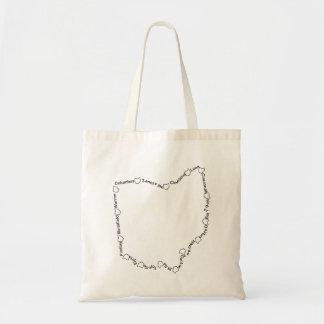 Cities of Ohio 001 Tote Bag