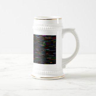 Cities Of The World Text Design I Stein II Coffee Mug
