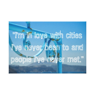 Cities & People Canvas Print