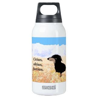 Citius, Altius, Fortius. Insulated Water Bottle