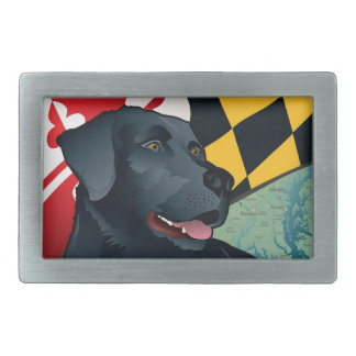 Citizen Black Lab Rectangular Belt Buckle