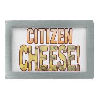 Citizen Blue Cheese Belt Buckle