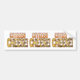 Citizen Blue Cheese Bumper Sticker