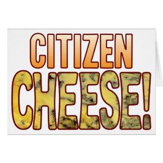 Citizen Blue Cheese Card