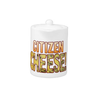 Citizen Blue Cheese Teapot