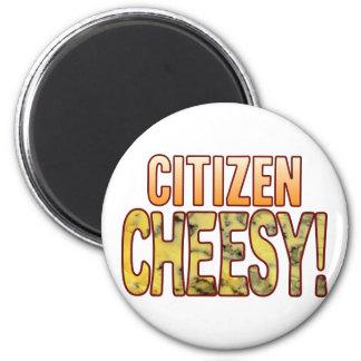 Citizen Blue Cheesy Magnet