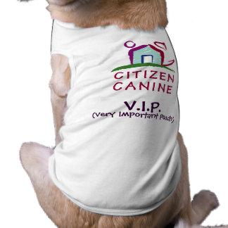 Citizen Canine VIP Dog Tee