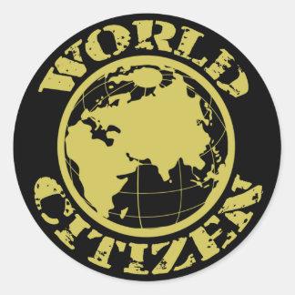 Citizen Classic Round Sticker