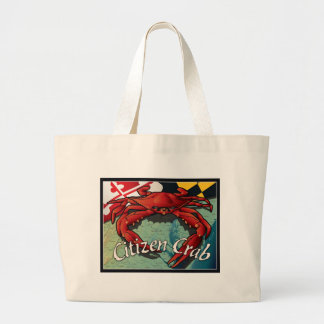 Citizen Crab of Maryland Tote Bags
