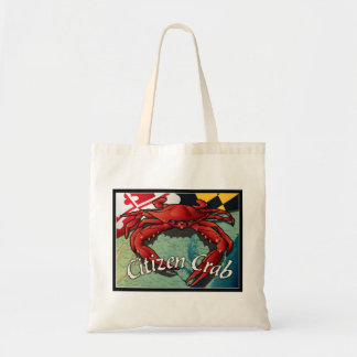 Citizen Crab of Maryland Canvas Bag