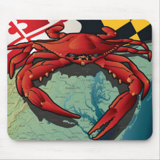 Citizen Crab of Maryland Mousepads