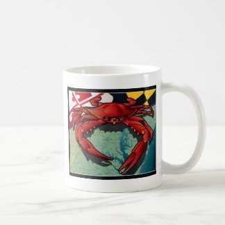 Citizen Crab of Maryland Classic White Coffee Mug
