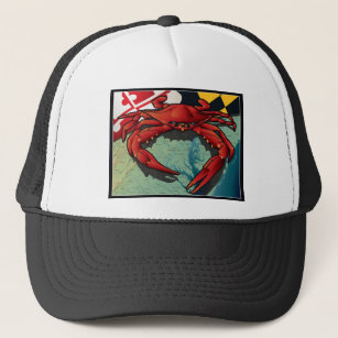 8825fb611929a Citizen Crab of Maryland Trucker Hat