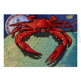Citizen Crab of Virginia Card