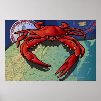Citizen Crab of Virginia Posters