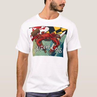 Citizen Crab with mallet and knife T-Shirt