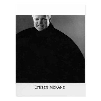 Citizen John McCain-Modern Citizen McKane Postcard