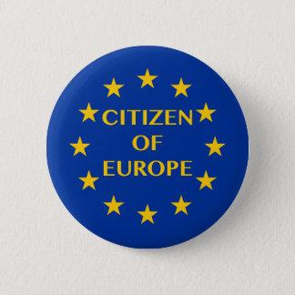 Citizen of Europe Button