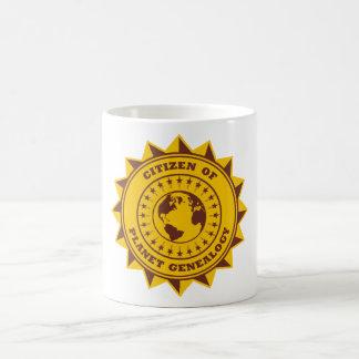 Citizen Of Planet Genealogy Coffee Mug