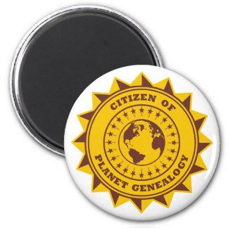 Citizen Of Planet Genealogy Magnet