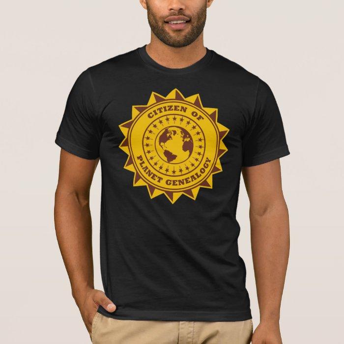 Citizen Of Planet Genealogy T-Shirt