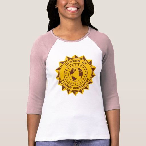 Citizen Of Planet Genealogy T-shirts