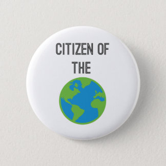 Citizen Of The World Button