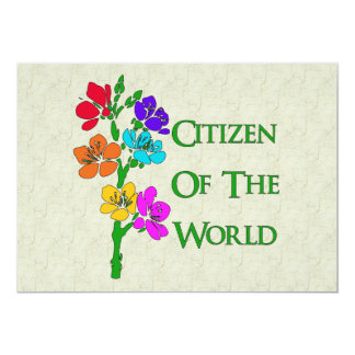 Citizen Of The World Card