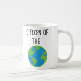 Citizen Of The World Coffee Mug