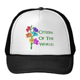Citizen of the World Mesh Hat