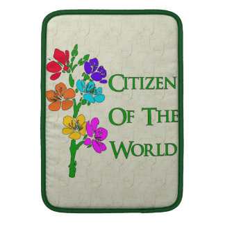 Citizen Of The World MacBook Sleeves