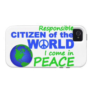 Citizen of The World iPhone 4 Case-Mate Vibe iPhone 4 Case